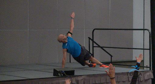 All in One: Core, Cardio, Balance, and Strength!