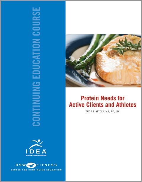 Protein Intake for Clients and Athletes - CEC Course
